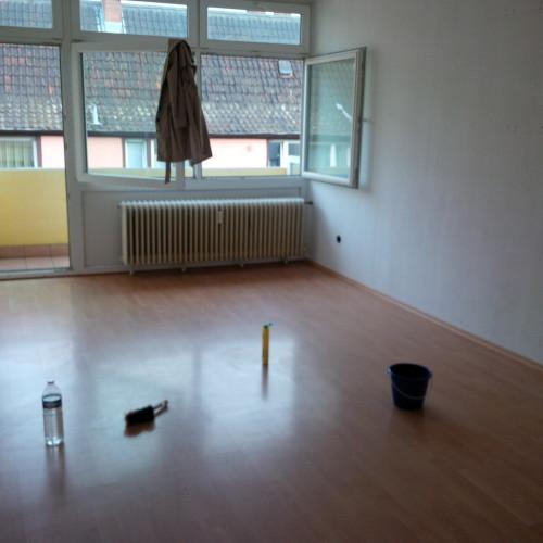 Die Mannheimer Etagenwohnung muss sich jetzt einen neuen Mieter suchen.