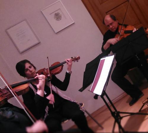 Bei traditionsreichen Events unentbehrlich: Kammermusik.