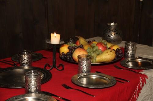 Kann man beim Herrn Wolf bestellen, so ein Mittelalterfestmahl.